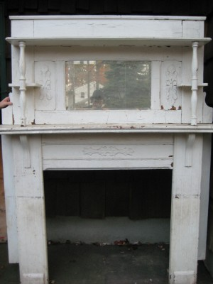 Ca. 1880's Fireplace Mantle