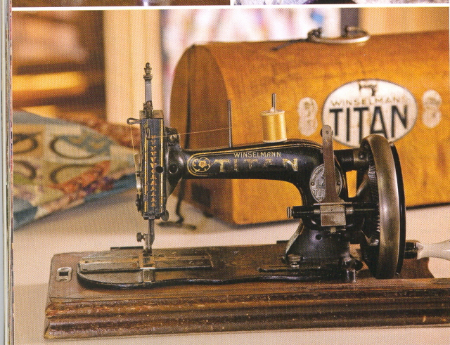 My trusty Antique Sewing Machine